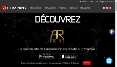 Site internet de Ze-Company
