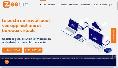 Site internet de Zeetim