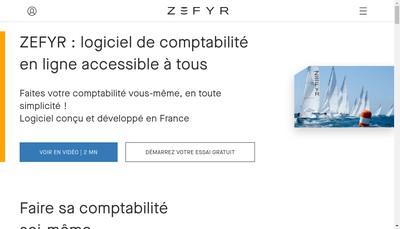 Site internet de Zefyr