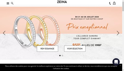 Site internet de Zeina Alliance