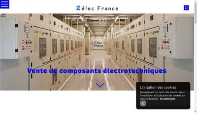 Site internet de Zelec France