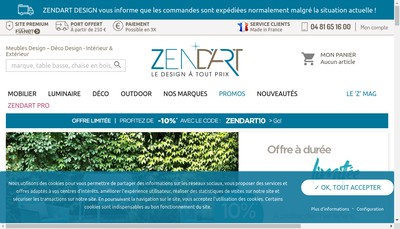 Site internet de Arts Design