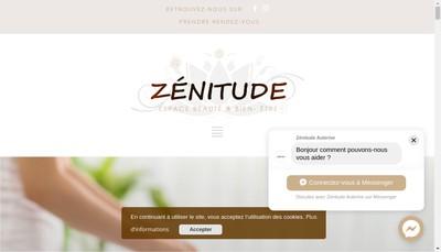 Site internet de Zenitude