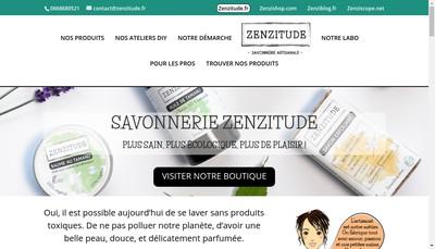 Site internet de Zenzitude