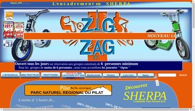 Site internet de Zig Zag 3 T
