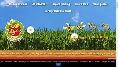 Site internet de Zig Zag Parc