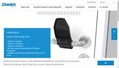 Site internet de Sommer Automatic