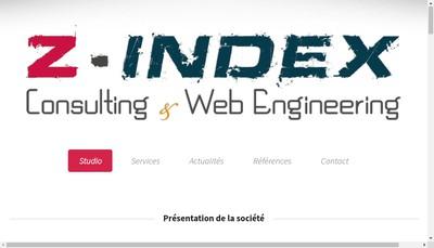 Site internet de Z-Index
