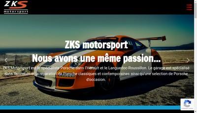 Site internet de Zks Motorsport