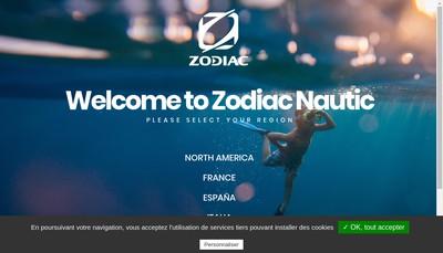 Site internet de Z Nautic