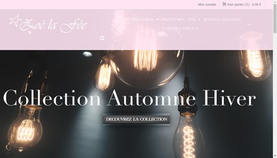 Site internet de Zoe la Fee