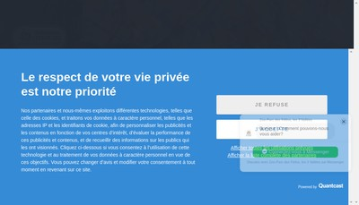 Site internet de Parc Zoologique des Trois Vallees