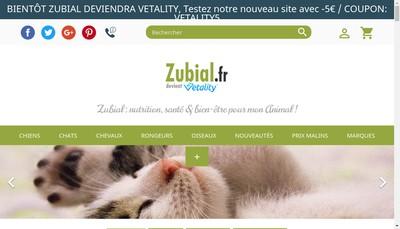 Site internet de Zubial Fr