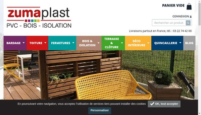 Site internet de Zumaplast
