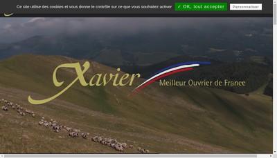 Site internet de La Table de Xavier
