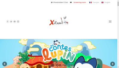 Site internet de Xilam Group