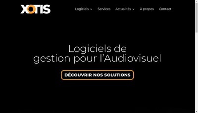 Site internet de Xotis