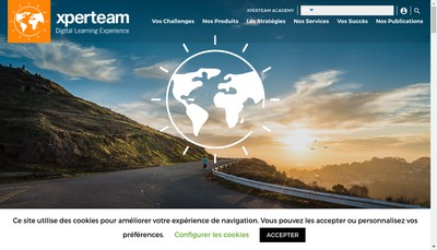 Site internet de Xperteam