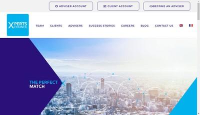 Site internet de Experts Council