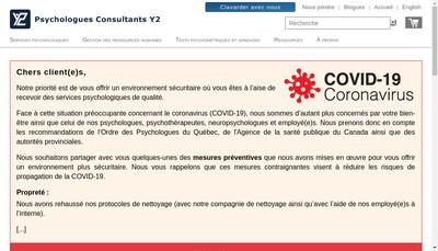 Site internet de Y2Cp