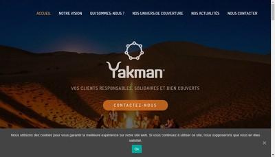 Site internet de Yakman