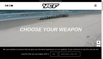 Site internet de Ycf