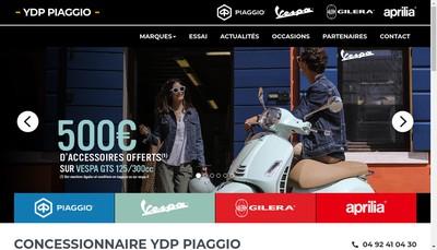 Site internet de Ydp Piaggio