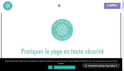 Site internet de Yoga Lodge