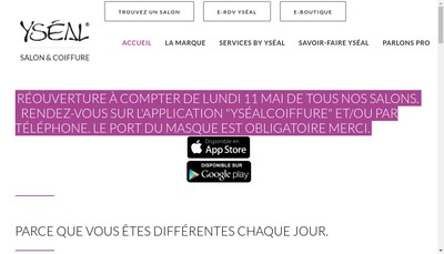 Site internet de Yseal Developpement