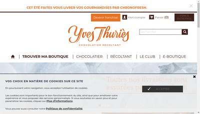 Site internet de Yves Thuries