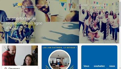 Site internet de Yzee Services