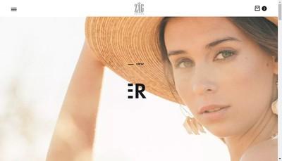 Site internet de Zag Bijoux Avantage Mode