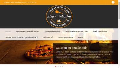 Site internet de Zapi Neche