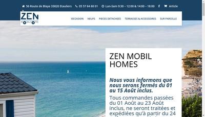 Site internet de Zen