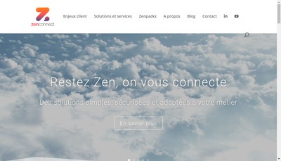 Site internet de Zenconnect