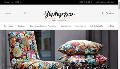 Site internet de Zephyr And Co