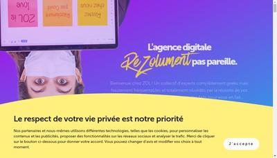 Site internet de Mm Conseil
