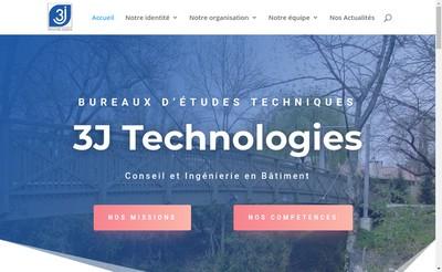Site internet de 3 J Technologies