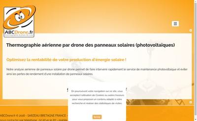 Site internet de Abc Drone