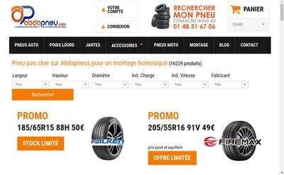 Site internet de Autogom