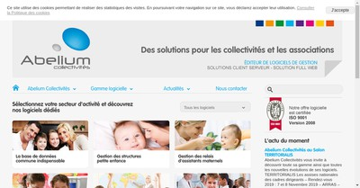 Site internet de Abelium Collectivites