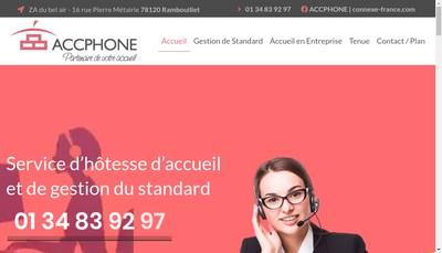 Site internet de Accphone