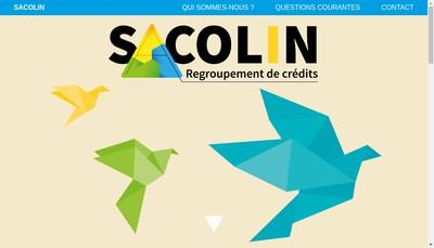 Site internet de Sacolin