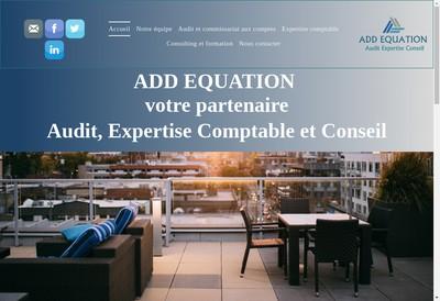 Site internet de Add Equation