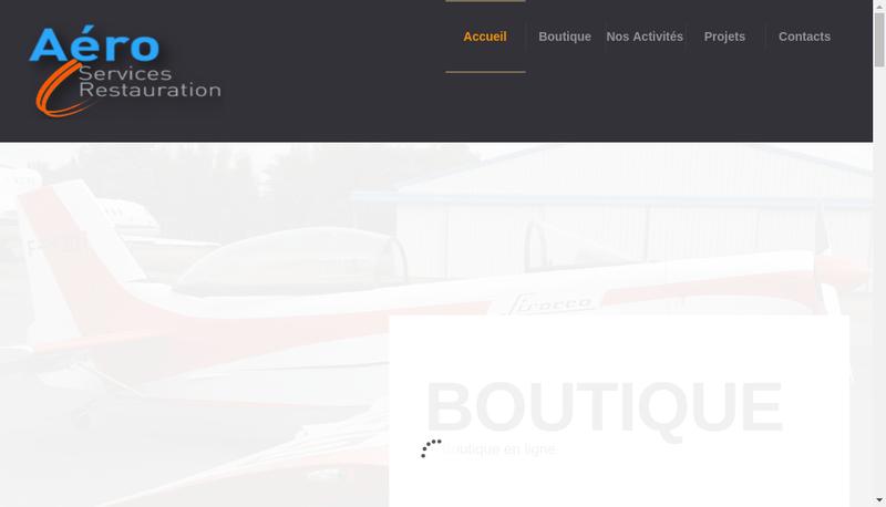 Capture d'écran du site de Stewart Systems Europe et Planeur Serv