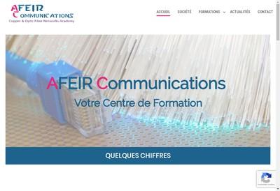 Site internet de Afeir Communications