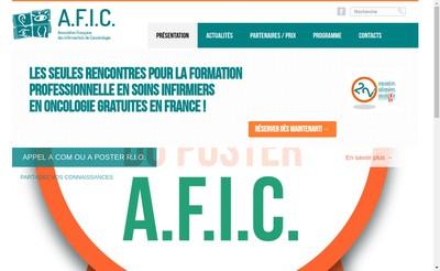 Site internet de Association Franc Infimieres de Cancerologies