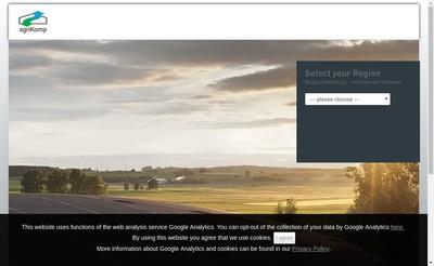 Site internet de Agrikomp France