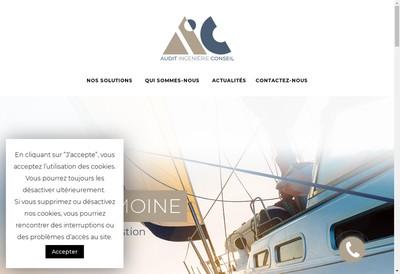 Site internet de AIC Patrimoine