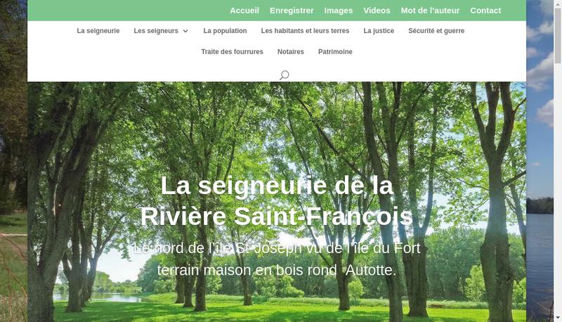 Capture d'écran du site de Korian Saint Francois du Las
